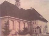 Šilutės laikinoji koplyčia, kurioje vyko pamaldos iki bažnyčios pastatymo