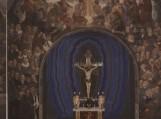 Šilutės M. Liuterio evangelikų liuteronų bažnyčios freska (~80 kv. m, 120 figūrų) altoriaus sienoje 2002 m.