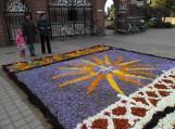 Rudeninių gėlių kilimas Švėkšnoje