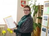 Poetė ir rašytoja Vilma Isevičiūtė – Grigonienė lankėsi Traksėdžiuose. Nuotraukos Klemenso Stulgos