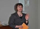 Renginio vedėja  Klaipėdos universiteto istorikė doc. dr. Silva Pocytė