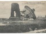 Rusų įsiveržimas į Klaipėdą. Atvirutėje sugriautas vandentiekio bokštas Klaipėdoje, I Pasaulinio karo metu, rusų kariuomenės. Nuotraukos Šilutės muziejaus
