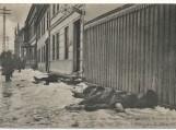 Klaipėda 1915 m. kovo 21 d. Gatvės kautynių metu žuvę žmonės (rusų kareiviai).