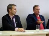 Algirdas Gečas ir Arvydas Jakas. Nuotraukos Gintaro Radzevičiaus