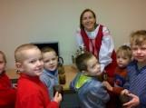 Grabupių bibliotekoje vaikai gilinosi į rusų arbatos gėrimo tradicijas