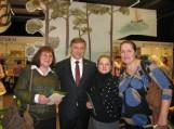 Su vienu iš fondo Švieskime vaikus steigėju Ramūnu Karbauskiu