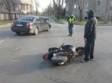 Motorolerio vairuotojas sukėlė avariją