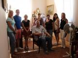 IMG_002 Šilutiškiai kartu su Balstogės Lukašo Gurnickio bibliotekos direktoriumi Jan Leonczuk (viduryje).