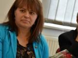 """""""Metų socialiniu darbuotoju"""" buvo paskelbta Virginija Murauskienė. Nuotraukos Šilutės r. savivaldybės"""