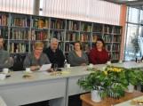 Projekto vadovė, Pagėgių savivaldybės viešosios bibliotekos direktorė Elena  Stankevičienė pristato plenero idėją, viziją ir tikslus