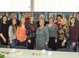 Jaunieji Pagėgių krašto fotografai ir Pagėgių savivaldybės viešosios bibliotekos  bendruomenė. Nuotraukos Astos Andrulienės
