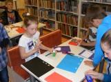 Kūrė knygutes, gamino knygų skirtukus, piešė iliustracijas...