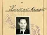 Heinricho Kuršaičio darbo knygelės antraštinis puslapis