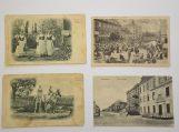 Keturi atvirukai iš Banaičių kolekcijos