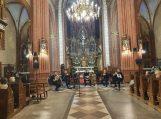 KLaipėdos Brass kvintetas su solistu P. VYšniausku